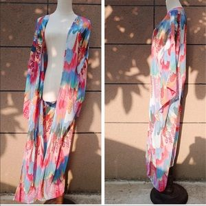 Other - Restocked! 5🌟Fave Bright Feathers Festival Kimono